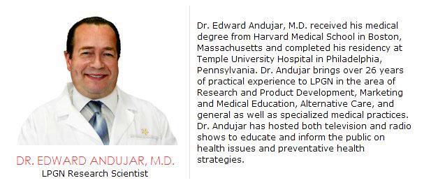 Dr Edward Andujar LPGN Doctor Scientist