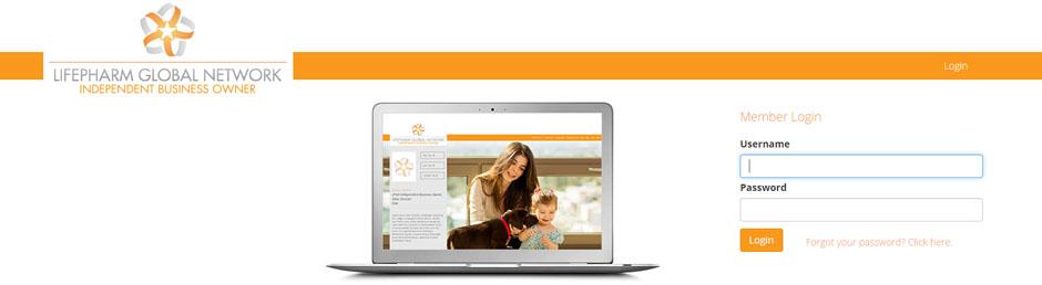 lifepharm global network login