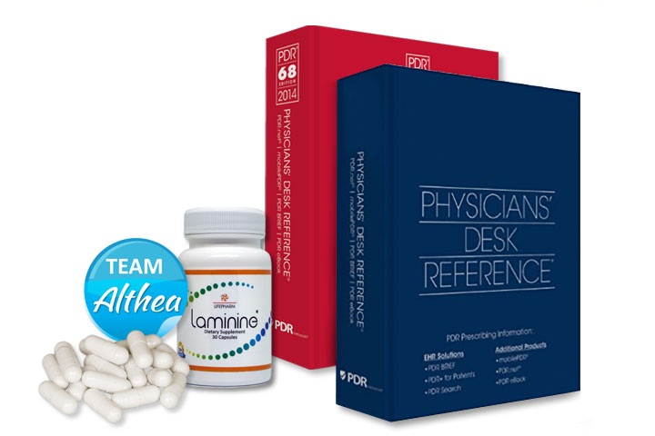 Physician's Desk Reference (PDR) on Laminine