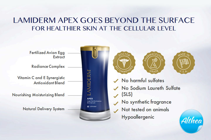benefits of lamiderm apex serum